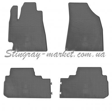 Комплект резиновых ковриков в салон автомобиля Toyota Highlander 2008-