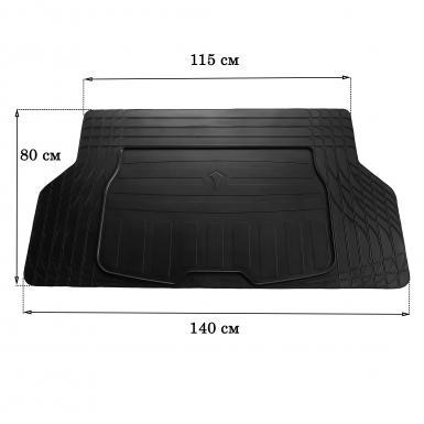 Коврик в багажник (размер S)