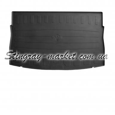 Резиновый коврик в багажник Volkswagen Golf VII hatchback (top trunk) 2013-
