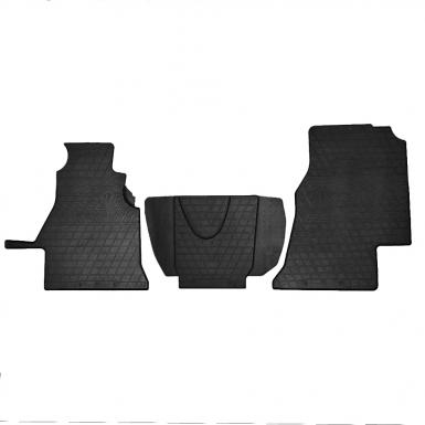 Комплект резиновых ковриков в салон автомобиля Volkswagen LT 2 (1+2)