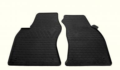 Передние автомобильные резиновые коврики AUDI A6 (C5) 1997- (design 2016)