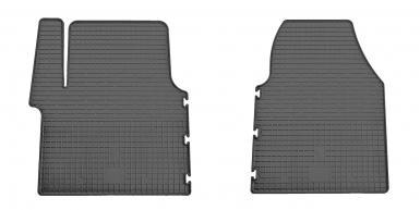 Комплект резиновых ковриков в салон автомобиля Nissan Primastar 2001-